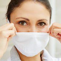 Influenza Prävention: Mundschutz