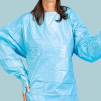 Influenza Prävention: Schutzkittel